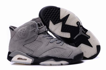 men jordan 6 Anti-fur shoes-001