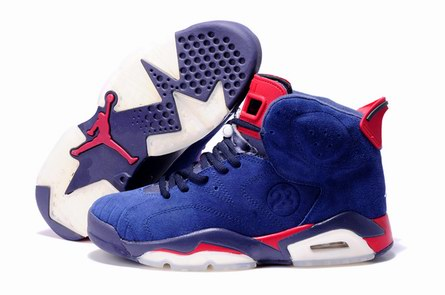 men jordan 6 Anti-fur shoes-013