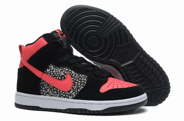 women high top dunk sneakers-010