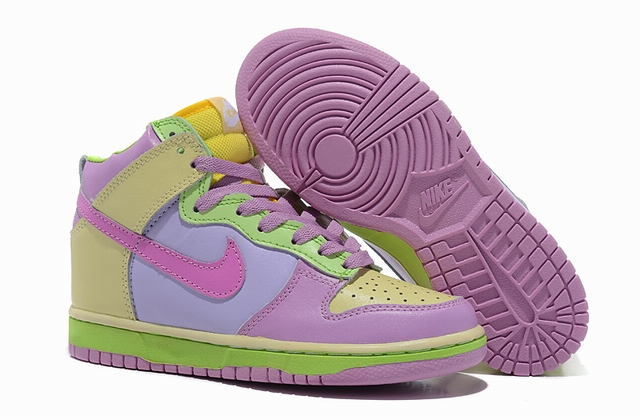women high top dunk sneakers-014