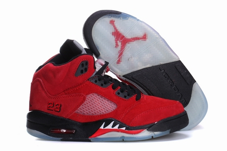 women jordan 5 Anti-fur shoes-001